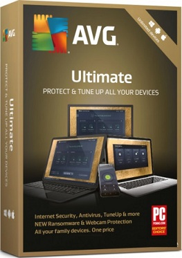 Антивирус AVG Ultimate на 1 год (электронная лицензия)