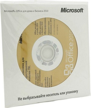 Офисное приложение Microsoft Office Home and Business 2010 Russian CEE ОЕМ (T5D-00044)