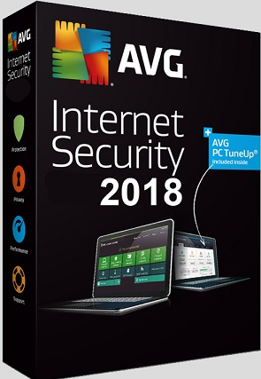 Антивирус AVG Internet Security для 3 ПК на 1 год (электронная лицензия)