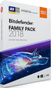 Антивирус Bitdefender Family Pack Unlimited Devices 2 года Global