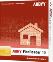 ABBYY FineReader 10 Home Edition 1 ПК BOX