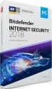 Антивирус Bitdefender 2018 Internet Security 3 ПК 12 месяцев